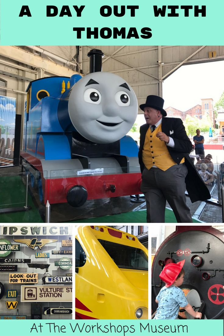 We headed over to A Day Out With Thomas to use our annual pass - Thanks Mum! Click to see why The Workshops is the ultimate toddler destination.