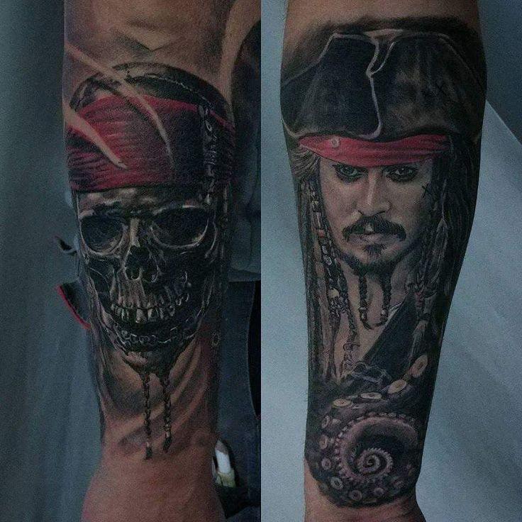 by Chris Abgeheiltes Jack Sparrow und jack Skull Tattoo. Sieht immer noch top aus ;) Art Makia Tattoostudio Kleve, Kirchstraße 13 ☎+4915202518301 kleve@art-makia.de ℹwww.art-makia.de  #tattoo #tattoos #instaart #inked #tattooartist #tattooart #tatted #inkedup #instatattoo #tats #tattedup #inklife #color #kleve #moers #venray #herten #tattooed #tattooedgirls #instatattoos #ink #inkaddict #inkaholic #jacksparrow #piratesofthecarribean #skulltattoo #artmakia #clothing #style #brand Reposted Via…