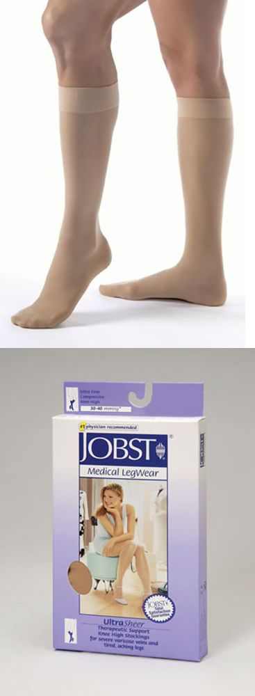 Stockings and Thigh-Highs 11527: Jobst Ultrasheer 30-40 Mmhg Knee High Stockings Natural 121465 - 121468 -> BUY IT NOW ONLY: $65.94 on eBay!
