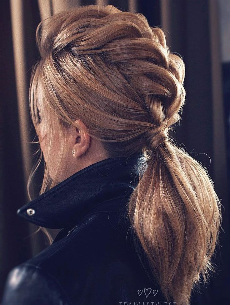 ponytail hairstyles ideas