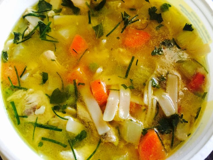 Homemade Chicken Soup Warms The Psyche