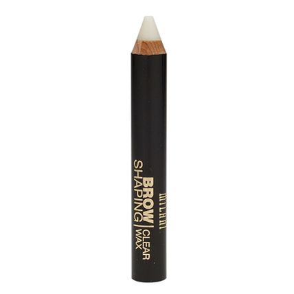 Milani Brow Shaping Clear Wax Clear: This transparent shade is suitable for all eyebrow colors and can be paired with other Milani brow products for an even bolder look.