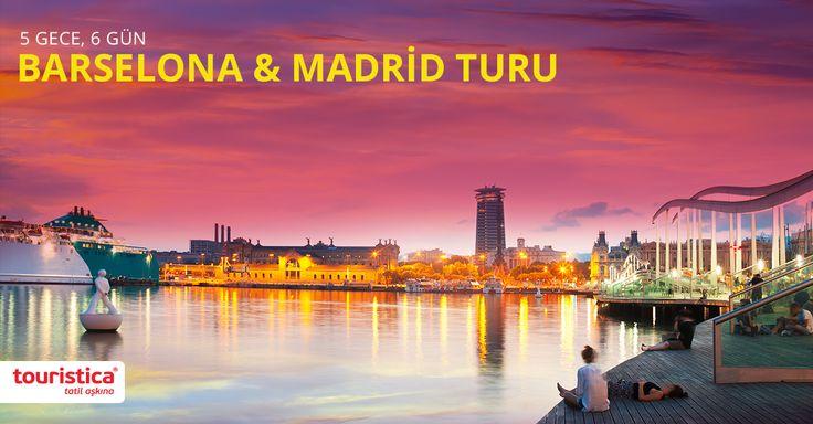 Gaudi'nin şehri Barselona'da başlayıp, matadorların şehri Madrid'e uzanan muhteşem bir yolculuk... Touristica ile Kurban Bayramı'nda İspanya'nın en güzel şehirlerinde buluşalım.