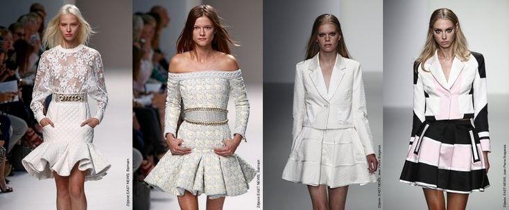 Rozkloszowane sukienki i spódnice - Trendy w modzie - Domodi.pl
