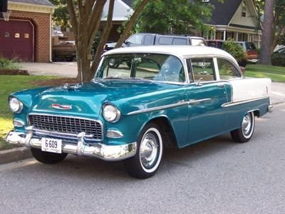1955 Chevrolet Belair - The car that changed the american automobile forever