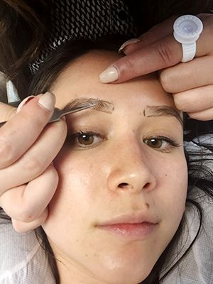 See what happened when one Allure editor got eyebrow extensions. | allure.com
