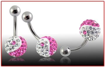 Piercing do pupíku s krystaly v dvoubarevné kominaci. :-) http://www.piercingate.cz/piercing-do-pupiku-s-krystaly-pbsw00063