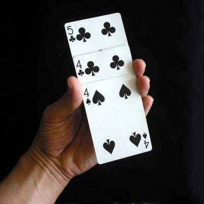 Card Magic Trick for Kids: Simple Monte2