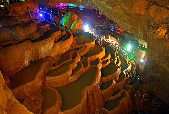 Jiuxiang Caves in Kunming