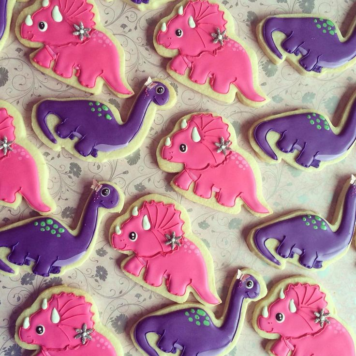 Dinosaur Cookies | Cookie Connection
