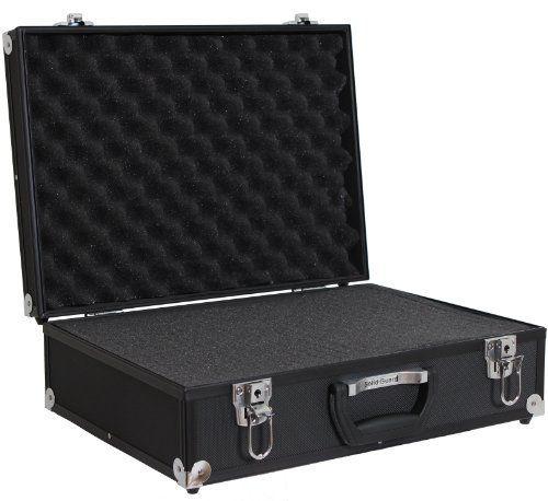 Solidguard by Brubaker valise photo en aluminium semi professionnelle noir: Price:79.99Valise photo semi professionnelle en aluminium.…