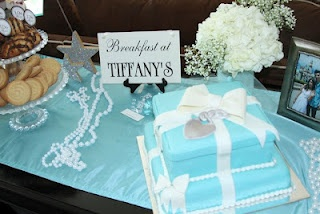 Breakfast at Tiffany's shower for my future sister in law! Had such a blast planning this!
