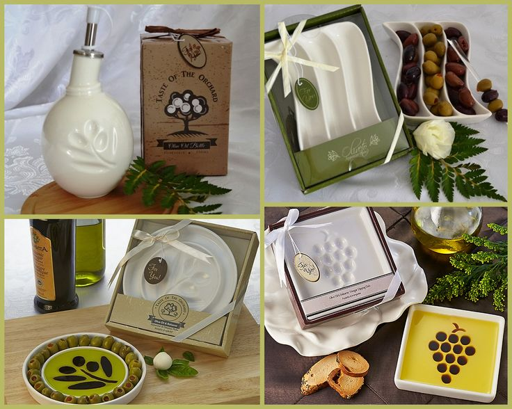 Olive Oil Wedding Favors from HotRef.com