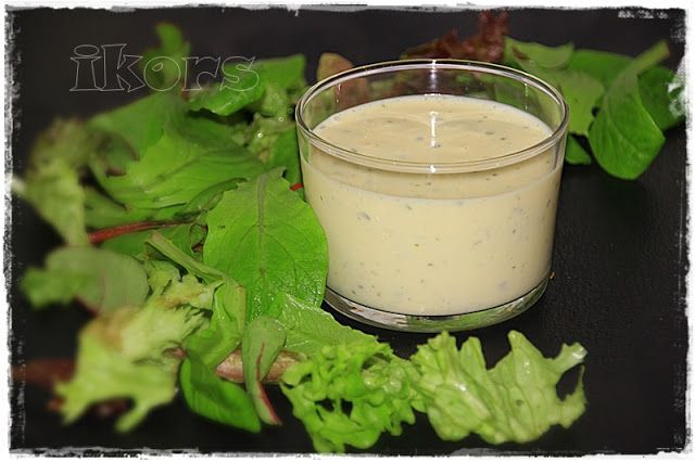 Sylter French Dressing Grundrezept Sylter Salatdressing herstellenRezept hier  dann dazu: 40 g mittelscharfen Senf½ TL Knoblauch granuliert2 EL Kräutermischung gefroren 10 Sek./St.4 ~~~~~~~~~~~~~  wer