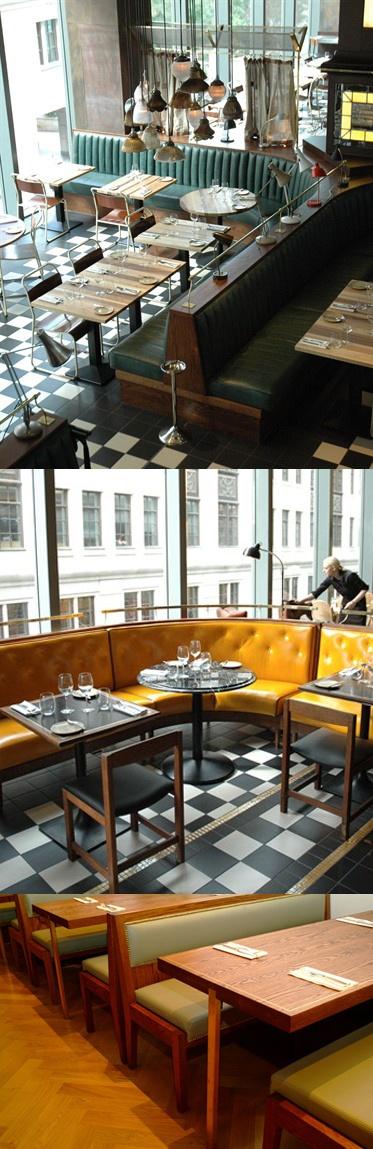 find - Beaded Inset Restaurant Interior