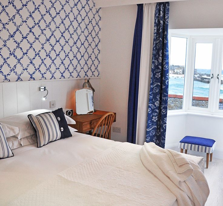 Trevose Harbour House in St Ives, Cornwall: a romantic guesthouse by Porthminster Beach.