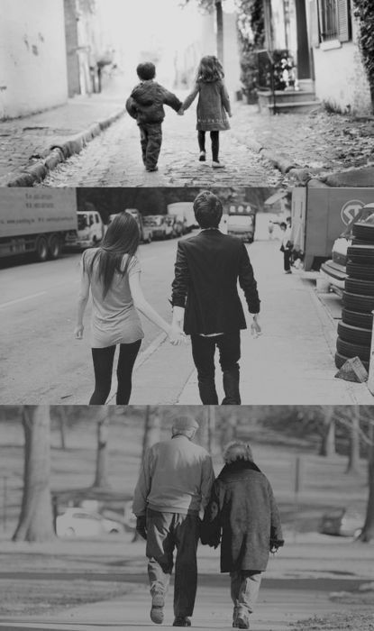 The kind of relationship where you knew each other since birth. The kind where you know every tiny bit of the other person. The kind where it is guaranteed that you will grow old and die side-by-side, hand-in-hand with each other. <3