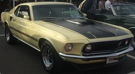 '69 Ford Mustang Mach 1 Coupe