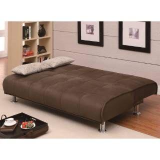 Transitional Sleeper Futon Sofa Bed priced at $434.40 at Homeclick.com.