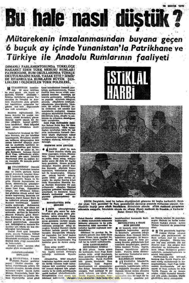 istiklal harbi gazetesi 16 mayıs (3) 1919
