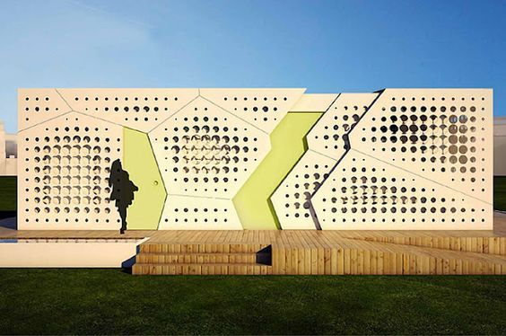 Casa perforada. Ni frío, ni calor Este diseño está pensado para maximizar la eficiencia energética en edificios en climas cálidos. Ha sido creado para representar a la Universidad Americana de El Cairo en la exposición Solar Decathlon 2012, que se celebrará en Madrid (España) en septiembre.