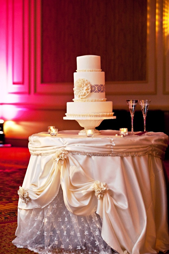 Wedding Cake Table On Pinterest Wedding Cake Tables Tablecloths And