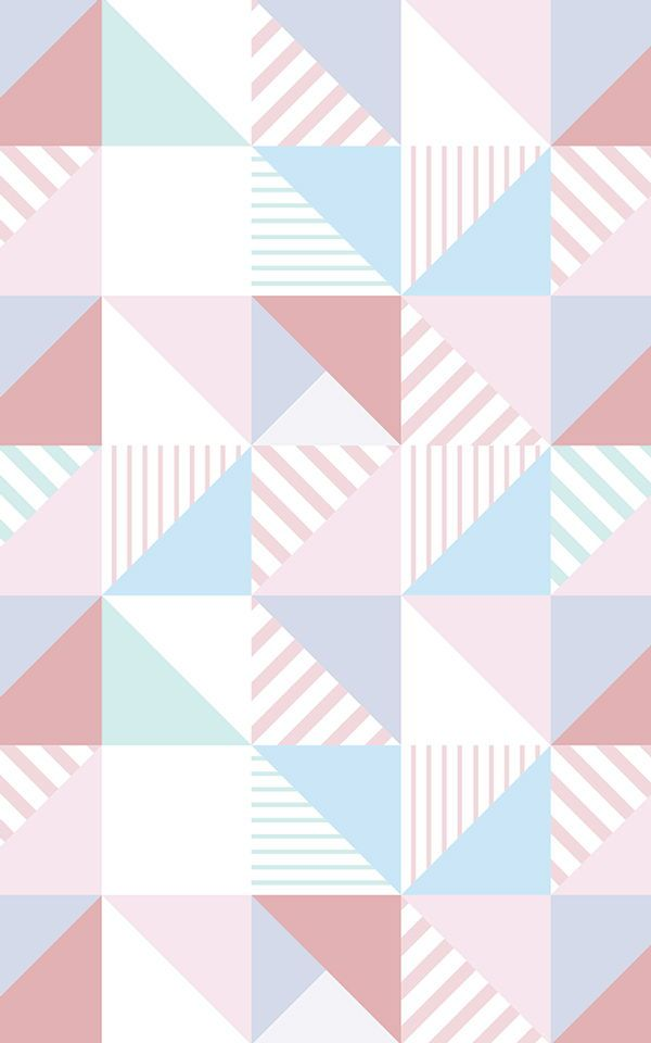 Square Pattern Wallpaper Striped Square Design Muralswallpaper Pattern Wallpaper Mural Wallpaper Pink Geometric Wallpaper