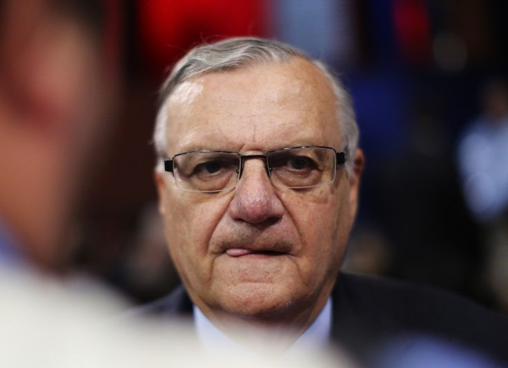 """Sheriff Joe"" delighted in humiliating immigrants. Now he's in disgrace."