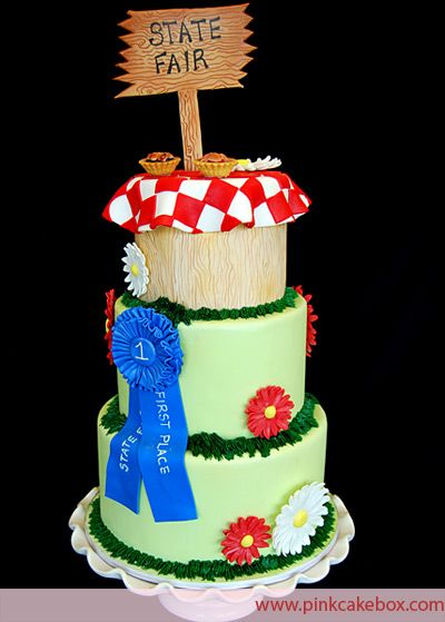 State Fair Themed Cake by Pink Cake Box in Denville, NJ.