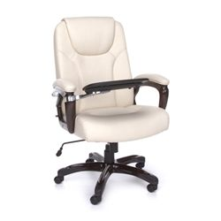 The OFM ORO Series Designer High Back Office Chair is superbly comfortable and comes with an awesome tablet attached! #officechair #stylishchair #comfortablechair