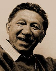 Abraham Maslow, creator of the hierarchy of needs. He had a profound impact on both humanistic and positive psychology.