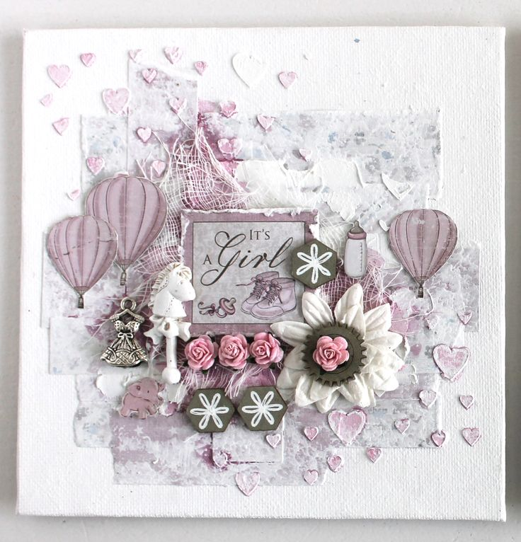 Wonderful Baby Girl Card by Ingrid