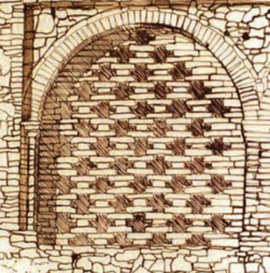 Esempio di griglia in laterizio