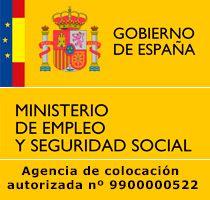 Formación Sin Barreras, ha sido autorizada el 18 de diciembre de 2015 como Agencia de Colocación por el Ministerio de Empleo y Seguridad Social, nº de Identificación: 9900000522. Real Decreto 1796/2010, de 30 de diciembre, por el que se regulan las agencias de colocación.