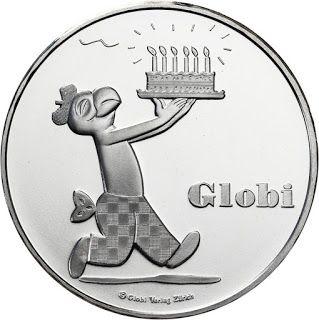 Switzerland 20 Swiss francs 2012 The 80 years of Globi