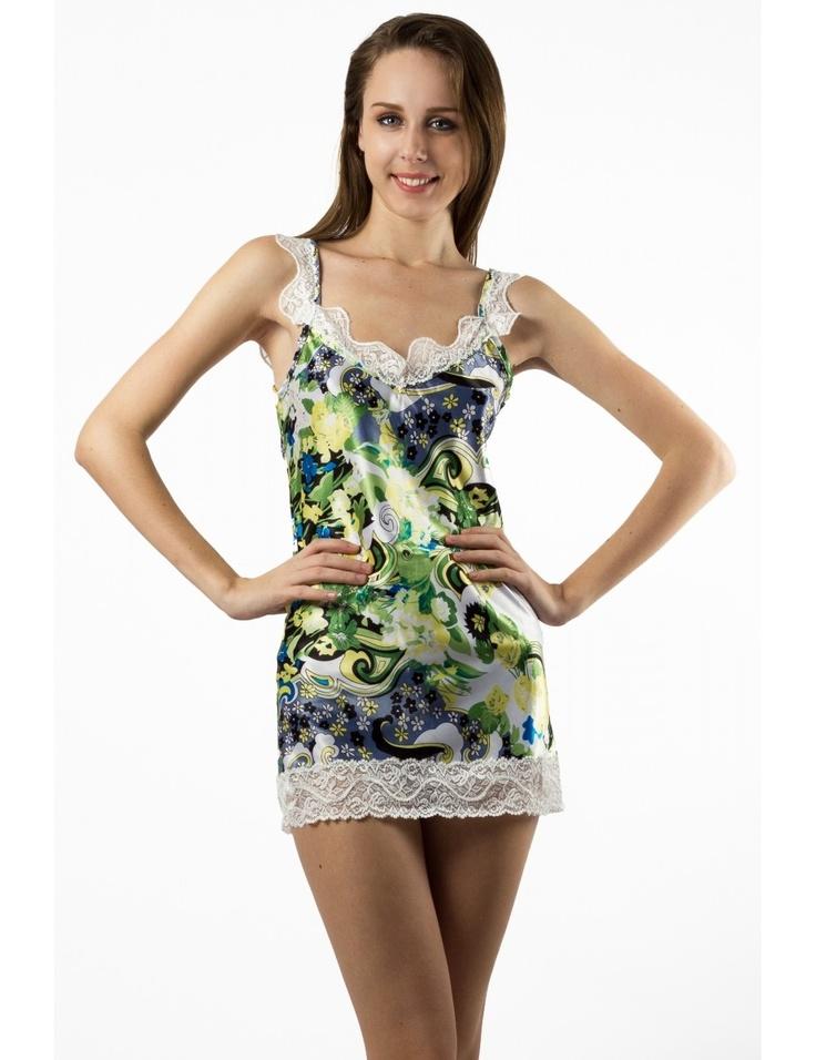 Zega Store - Pijamale Mushroom,culoarea verde - Femei, Pijamale