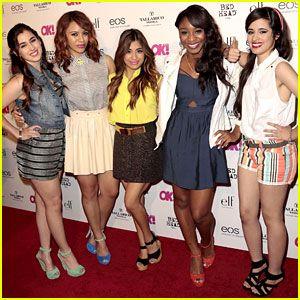 fifth harmony   Fifth Harmony: OK! Magazine's So Sexy Event   Ally Brooke, Camila ...
