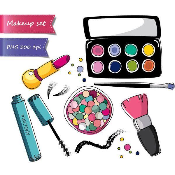 50 OFF SALE Makeup Clipart Beauty Cosmetics