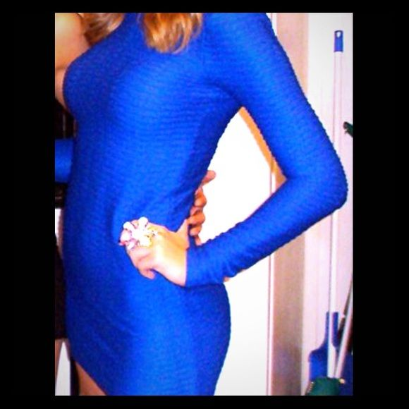 Royal blue cocktail dress Bodycon cocktail dress that has been worn once.Fits very true to size and is from Victoria Secret. Victoria's Secret Dresses Mini