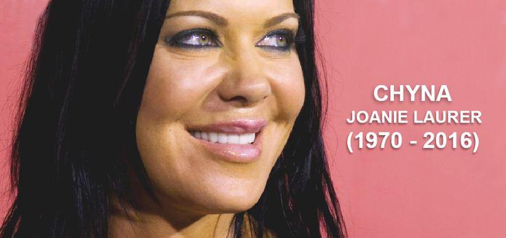 RIP:Female Wrestling Icon: Joanie Laurer aka Chyna, only 46 years-old. #chyna #ripchyna #wwe