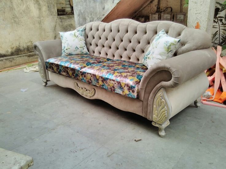 The chesterfield sofa. manufacturer by MY HOME DECOR nagpur (india).  tree seater at just 25000 only. My contact no is +91 8888750584
