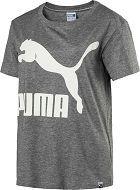 Women T-Shirts Women Puma Archive Logo W T-Shirt (Grey Heather) - Puma T-Shirts Qd1323
