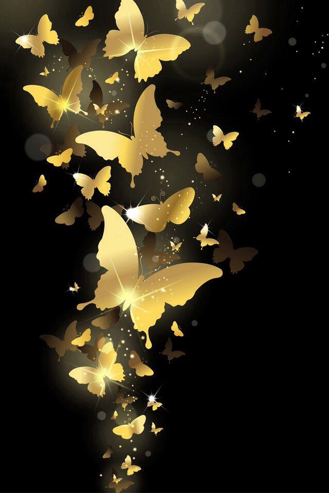 Golden butterflies Butterfly Wallpaper 160