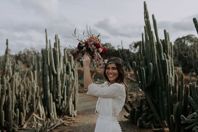 Elise Hameau's June LOVE in Cactus Country | Carte Blanche Bride x Alexandra Cohen