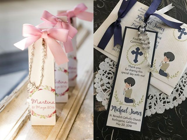 First Holy Communion Favors Communion Rosary Favor CHOOSE GIRL