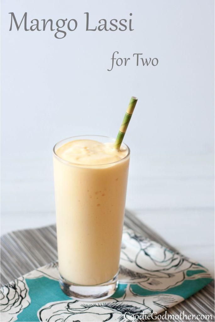 A refreshing mango yoghurt drink that's easy to make at home! This mango lassi recipe is really good, economical, healthy, and uses frozen mango, so you can make it year-round.
