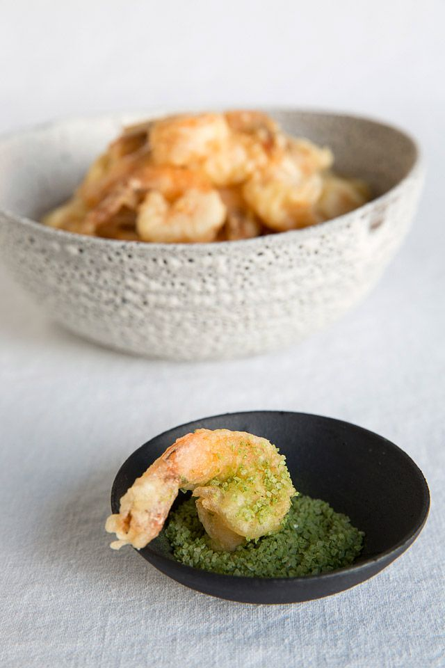 Recipe: Ebi Prawn Tempura and Matcha Green Tea Salt, Popular Japanese Dish