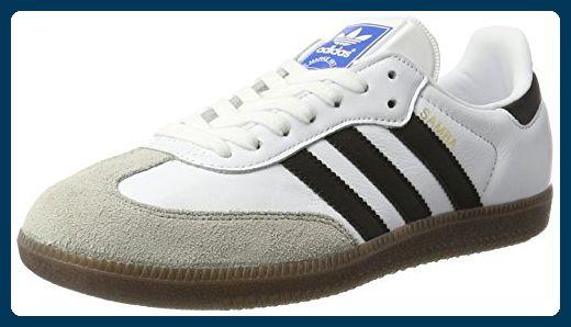 adidas Unisex-Erwachsene Samba Sneakers, Weiß (Footwear White/Core Black/Clear Granite), 40 2/3 EU - Sneakers für frauen (*Partner-Link)