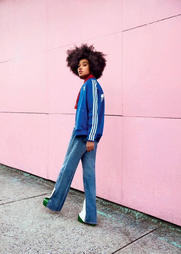 Amandla Stenberg for Teen Vogue   fashion editorial, natural hair, curly afro hair inspiration