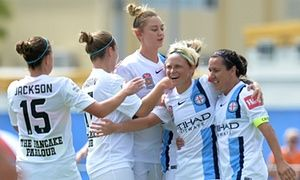 Melbourne City crowned W-League premiers after victory in Brisbane